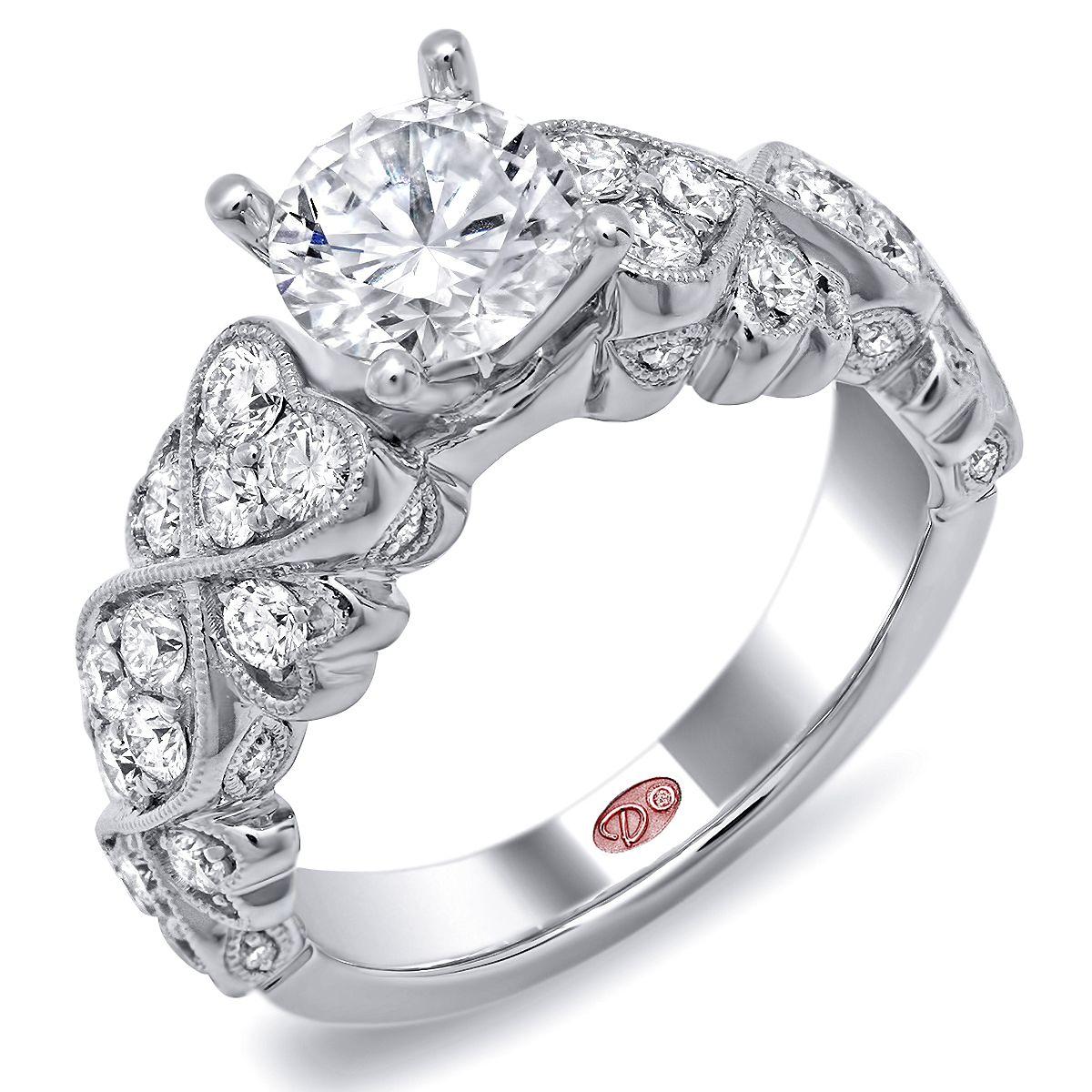 Designer Engagement Ring Dw6233 Designer Engagement Rings