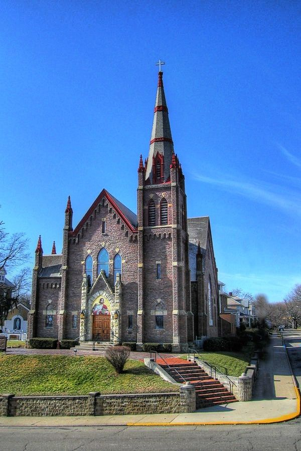 Hocking Hills Catholic Church Logan Ohio Mass Times Map