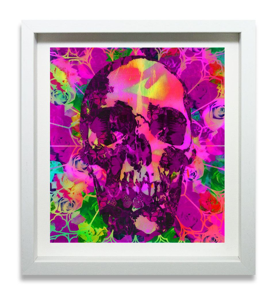 Psychedelic Skull No.6 - Edition of 30