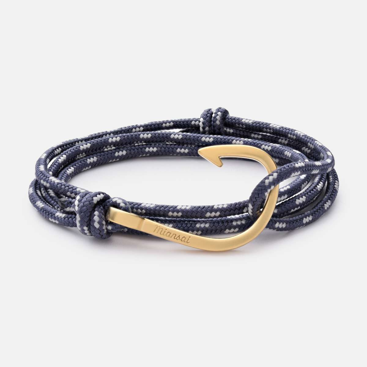 mens s men lisa bracelet cord angel personalised hook leather and black