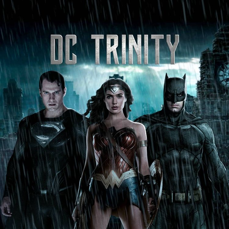 Justice League 2021 บน Instagram Introducing For The Very First Time The Exclusive Brand New Logo For My Page Dc Trinity In 2021 Dc Trinity Justice League Trinity