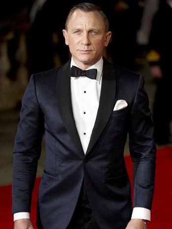 James Bond Daniel Craig Skyfall Tuxedo Suit | 23.june17