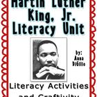Learning about MLK, Jr. will be a ton of fun with these literacy activities!I would be forever grateful if you could please leave feedback on thi...