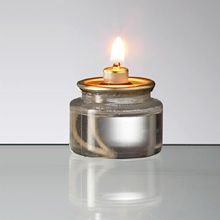 Liquid Glow Cartridges   Disposable Tealight Sized Mini Oil Lamp Burns Up  To 8 Hours.