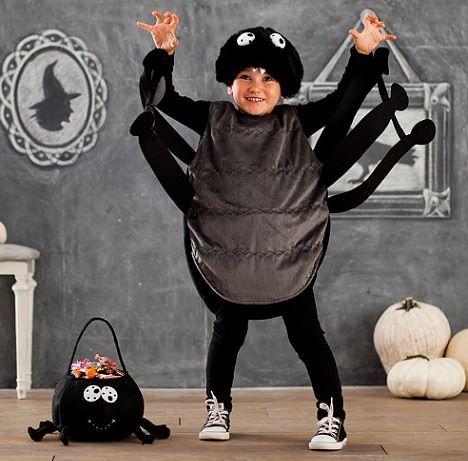 Disfraces Caseros De Halloween Disfraces Carnival Pinterest - Disfraz-de-araa-casero