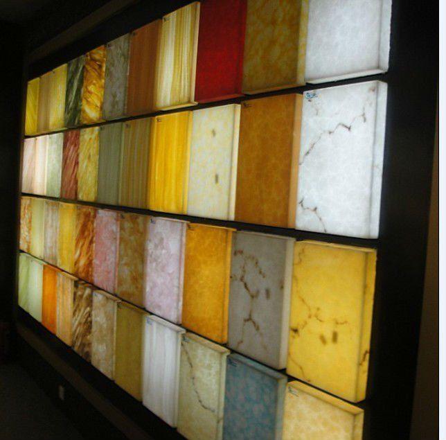 Decorative Panels Transparent Pvc Rigid Sheet Translucent Wall
