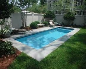 small rectangular pools - Bing Images | Small pool design ... on Small Rectangular Backyard Ideas id=14437