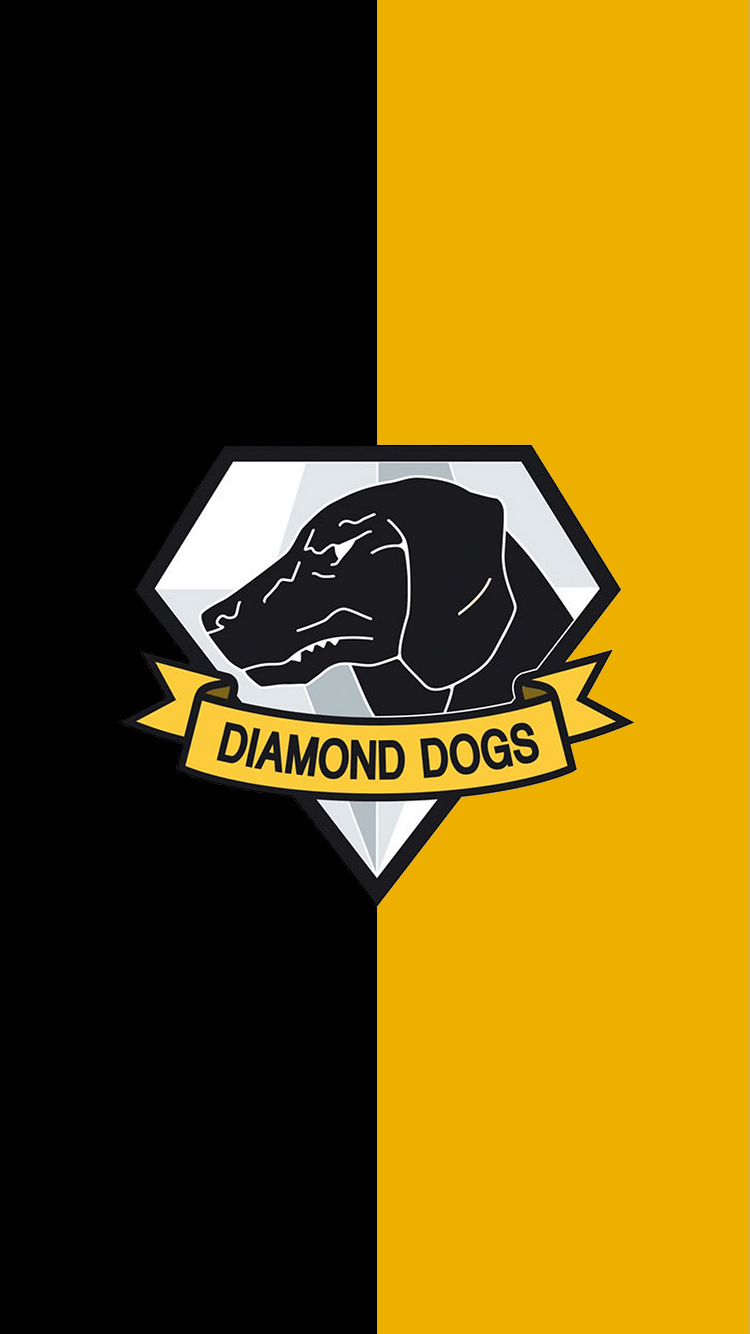 Heres A Diamond Dogs Phone Wallpaper Too Enjoy Metalgearsolid Metal Gear Solid Metal Gear Metal Gear Solid Quiet