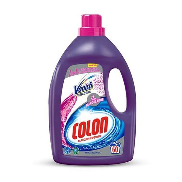17,29 € Detersivo Liquido per Bucato Colon Vanish White