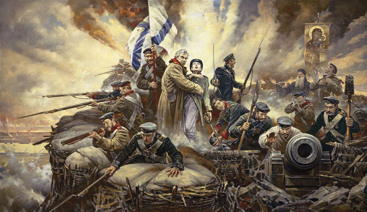 ¡Defenderemos Sevastopol! Más en www.elgrancapitan.org/foro