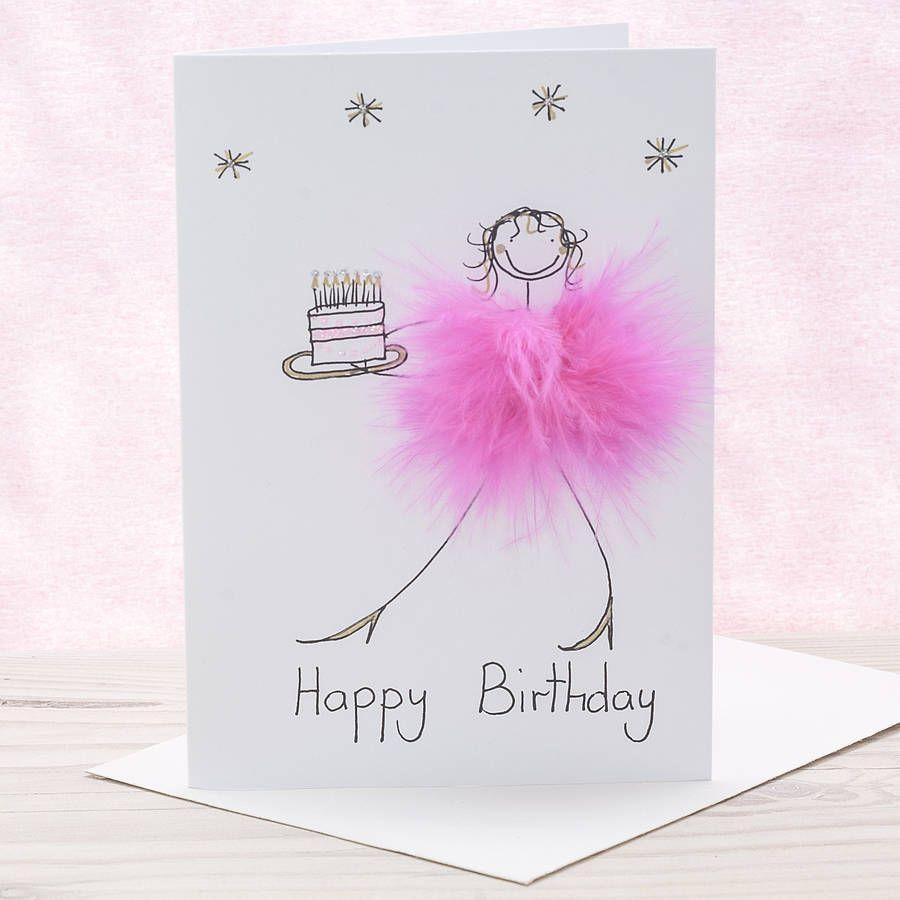 Handmade Funny Birthday Card False Teeth by LeannejeanGraphics – Handmade Personalised Birthday Cards