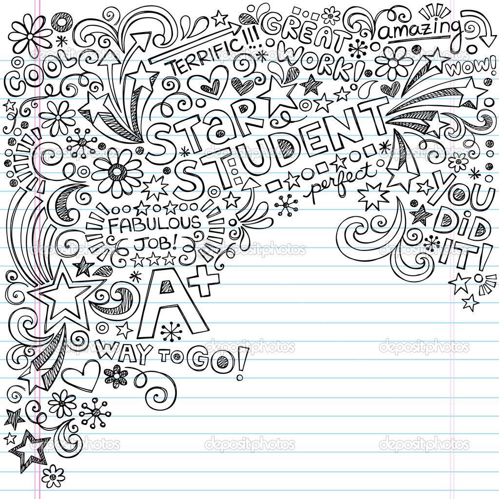 depositphotos_22934710-Star-Student-A-Plus-Inky-Scribble ...