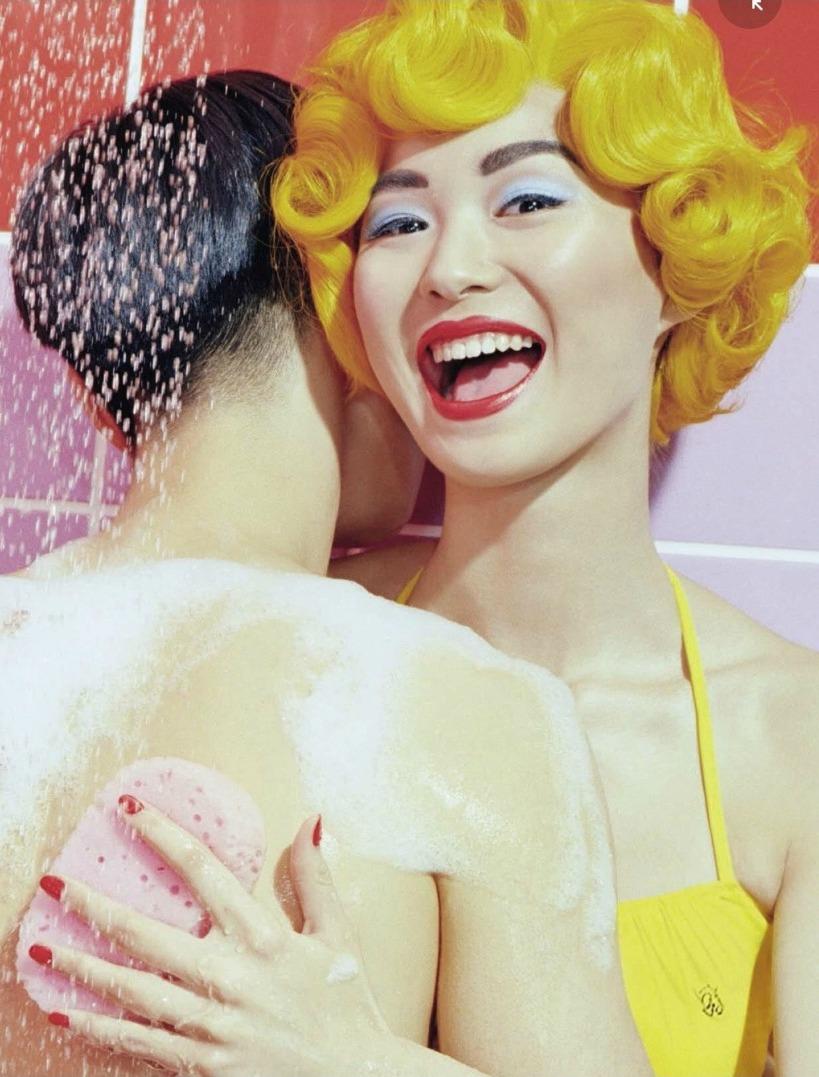 Estelle Chen by Miles Aldridge for Vogue Italia Beauty June 2015
