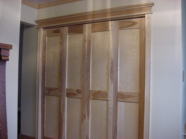 Custom built bifold doors Bifold closet doors, Closet