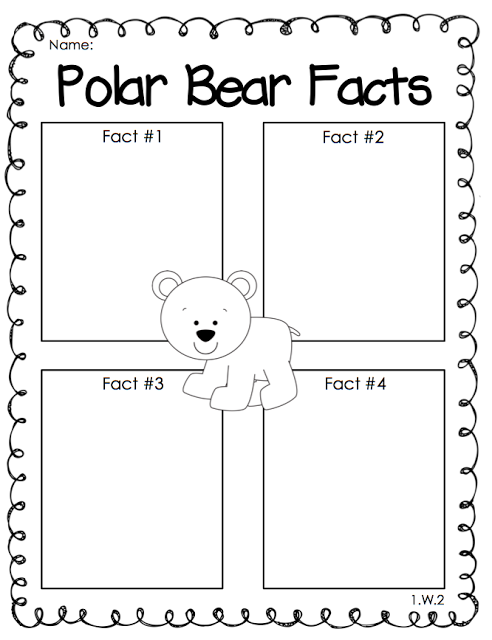 Arctic Animals Facts First Grade Teaching Arctic Animals First