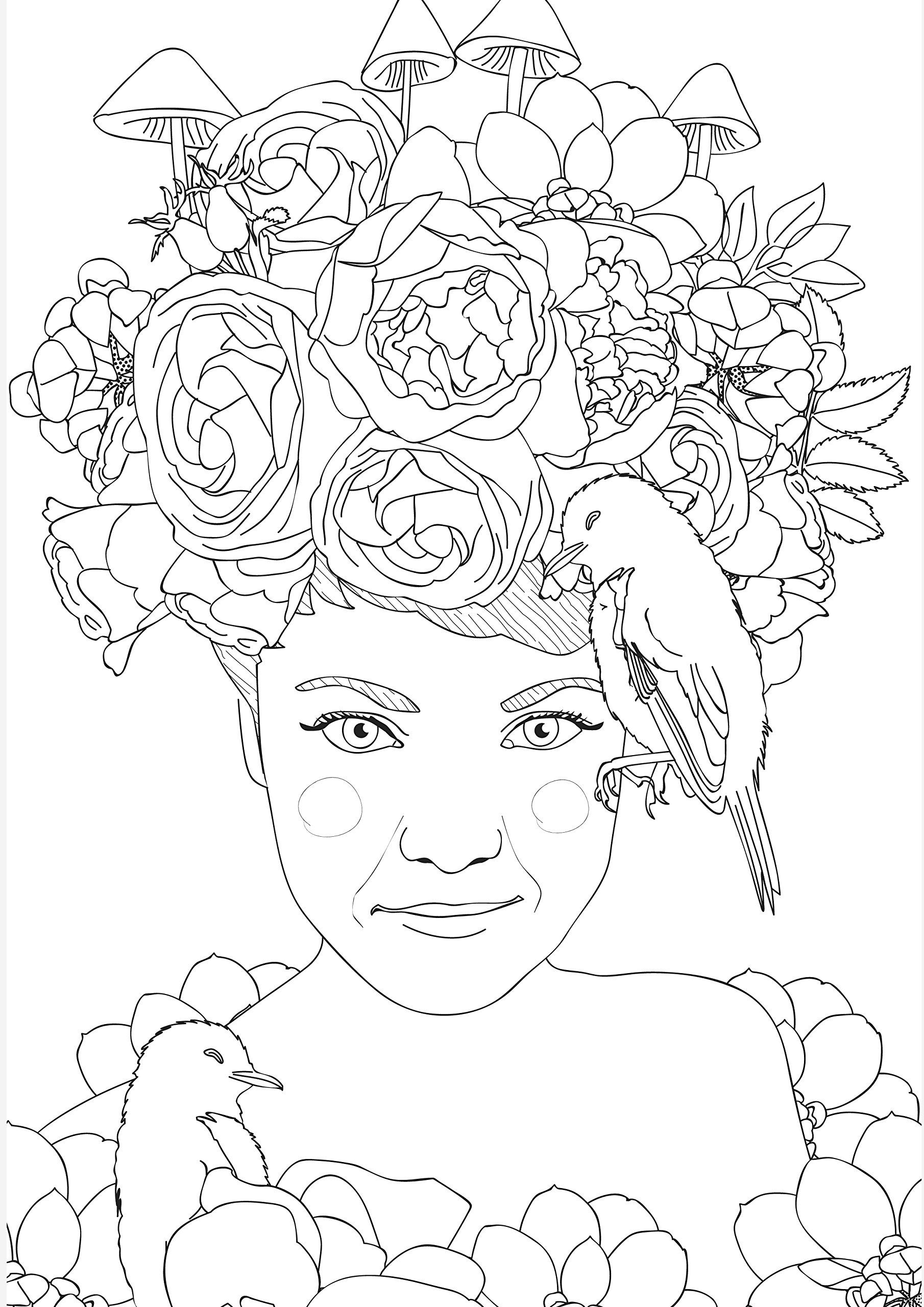anti coloring book printable pages - photo#48