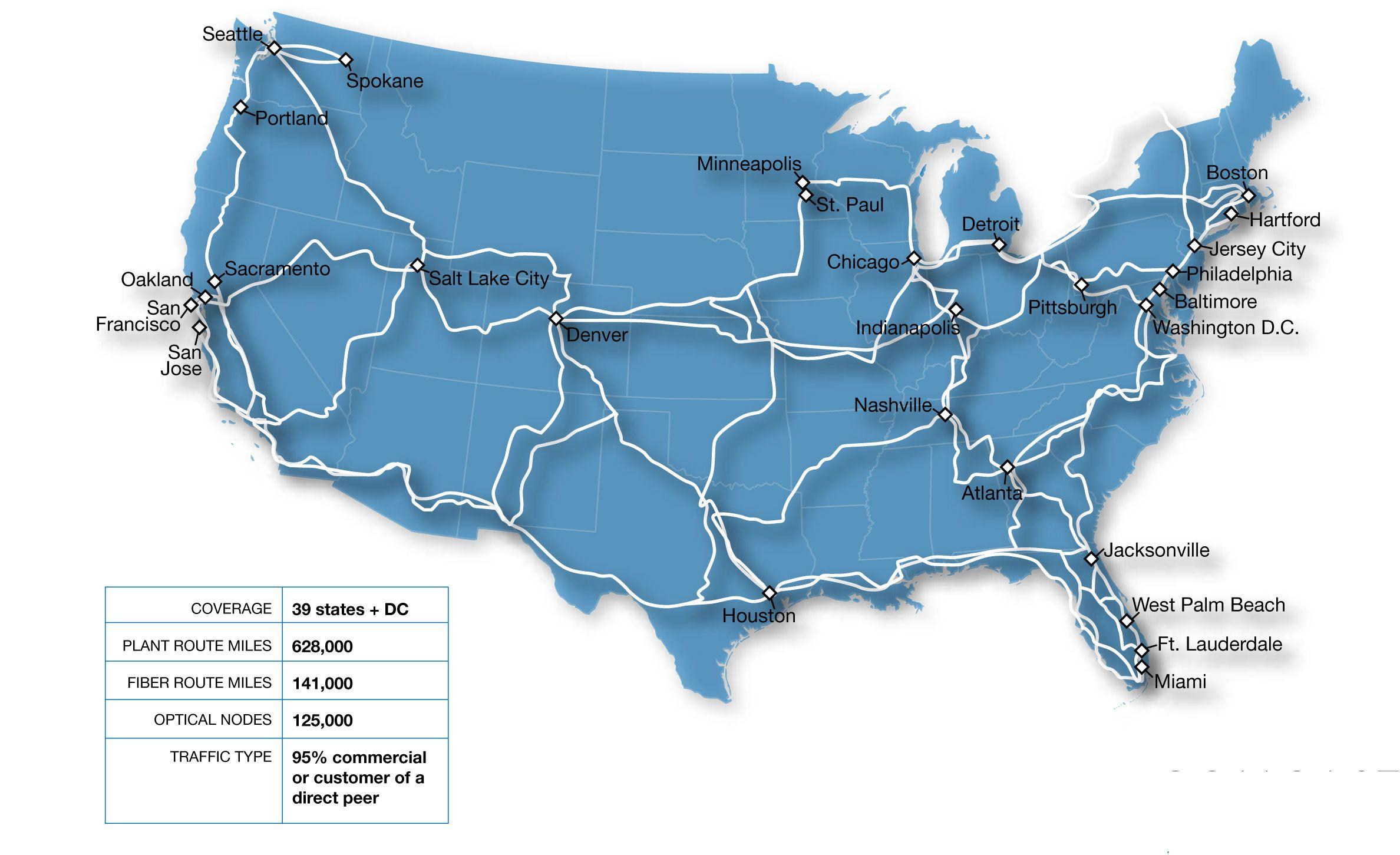 Comcast Fiber Map My Blog - Us fiber map