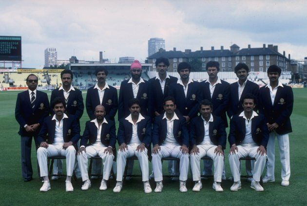 The Indian Team Line Up Before The 1983 World Cup Final India Would Go On And Lift The Cricket World Cup After World Cricket Cricket In India World Cup Match