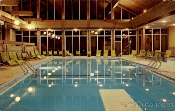 Salt Fork State Park Lodge indoor swimming pool  Family