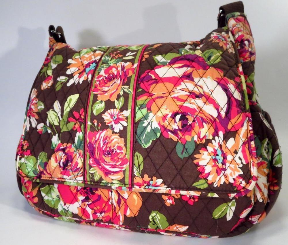 Vera Bradley English Rose Baby Diaper Bag Shoulder Bag    VeraBradley dede2e8767d8b