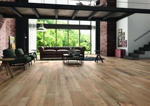 Carrelage imitation parquet bois à lu0027intérieur de la maison  les