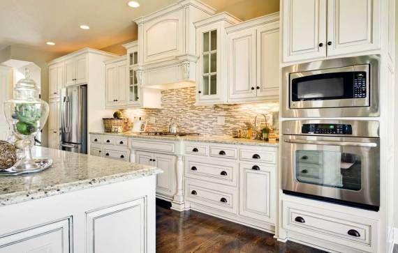 Weiße Holz Küche Schränke #Badezimmer #Büromöbel #Couchtisch #Deko
