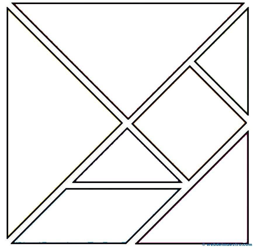Tangram Tangram Tangram Imprimible Y Material Didactico