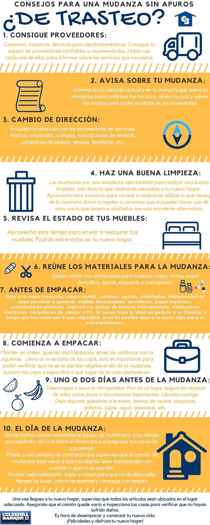 De Trasteo Aqui Te Damos Unos Buenos Tips Que Pueden Ayudarte A
