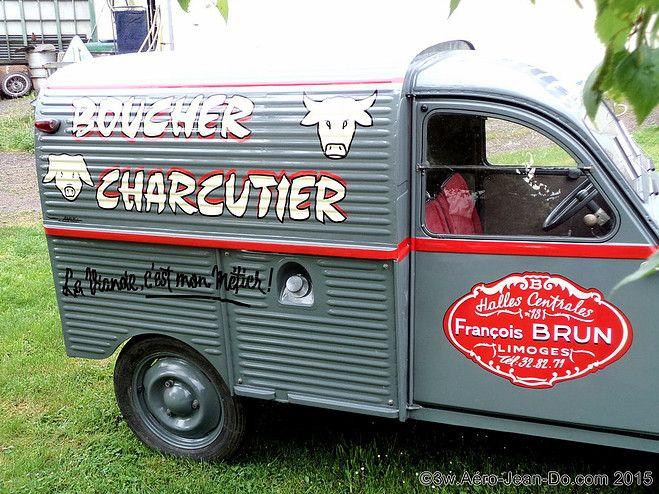 Atelier Aero Jean Do Peintre En Lettres Decorateur 2cv Citroen 2cv Vehicule De Collection
