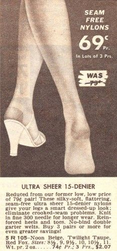 81f3bbdfc8b 1950s Stockings and Nylons History   Shopping Guide
