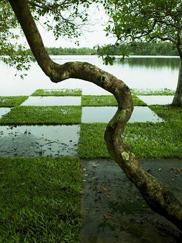 Lunuganga by geoffrey bawa bawa sri lanka s most famous for Garden design ideas sri lanka
