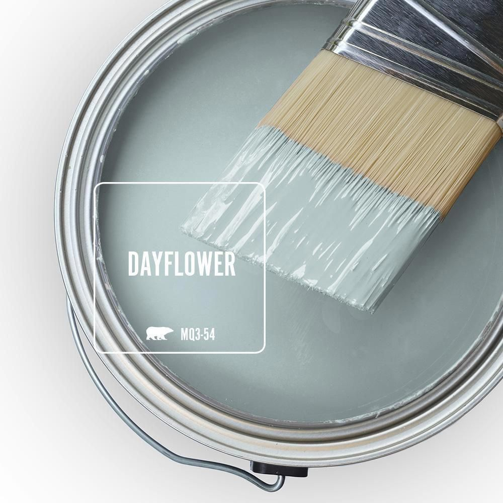 Behr Marquee 8 Oz Mq3 54 Dayflower One Coat Hide Interior Exterior Semi Gloss Enamel Paint Sampl Room Paint Colors Bedroom Paint Colors Paint Colors For Home