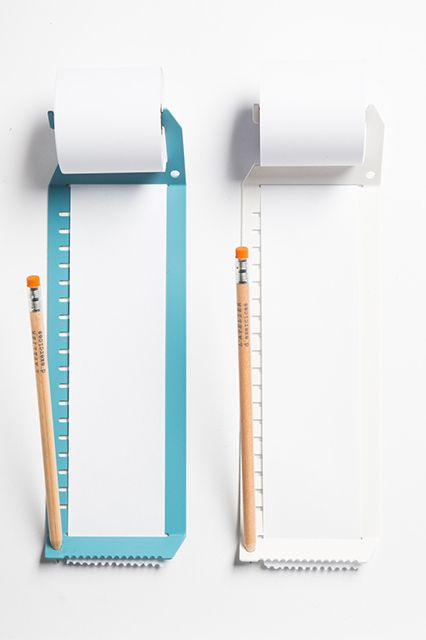 Get Stuff Done! 35 UNREAL Desk Accessories & Planners #refinery29  http://www.refinery29.com/2015-day-planners#slide7  L'Atelier D'exercises Endless Note, $52, available at Hand-Eye Supply.