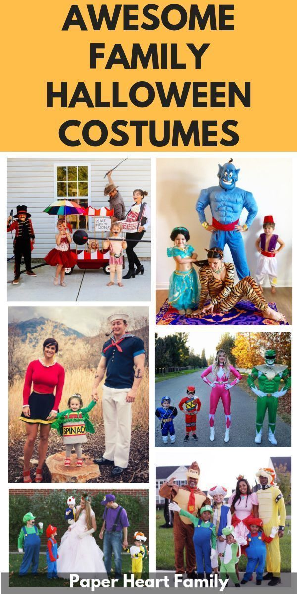 26 Creative Family Halloween Costume Ideas That You Haven't Seen Yet   #familycostumeideas