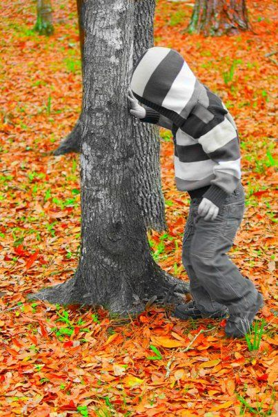 Tristan at Lettuce Lake Park (w/ a little fun in photoshop)