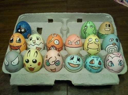 Poke eggs.  I didn't make them, but they're so freaking cute!!!