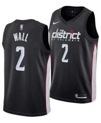 outlet store 92592 7484b Nike John Wall Washington Wizards City Edition Swingman ...