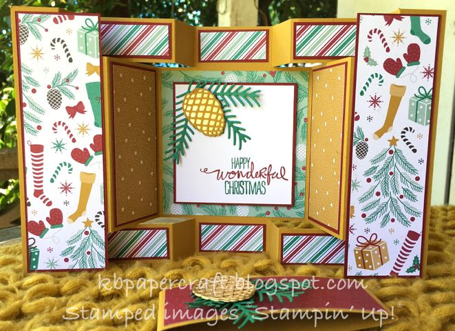 One of the projects I demonstrated at stamp camp last weekend was a Double Display card (more to come on that in the next day or two). After...