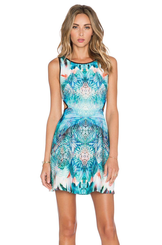 Johanne Beck Claudette Dress in Ocean Medallion | wardrobe ...