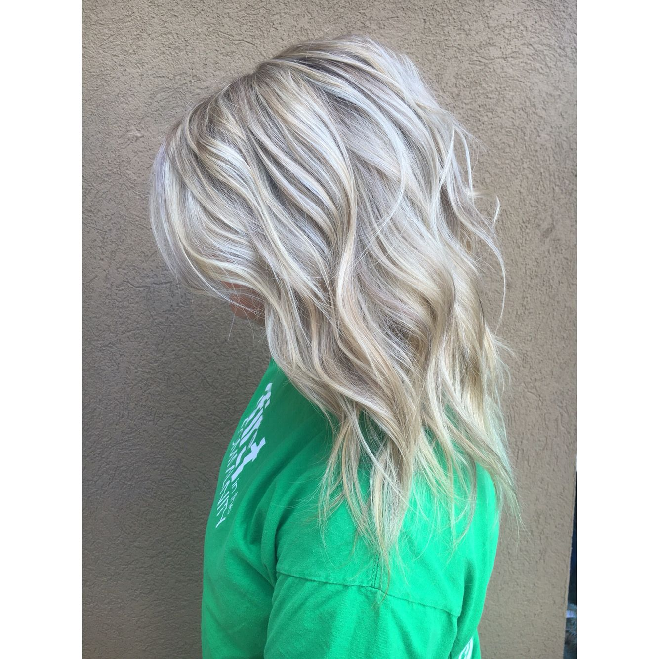Ice Blonde With Ash Lowlight For Fall Hair By Ashley Simpson Fort