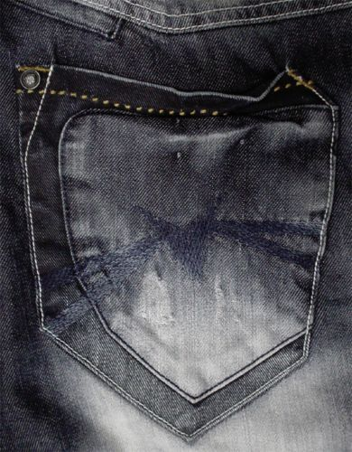 Men/'s Straight Leg Casual Premium  Blue Denim Jeans Size BNWT 32-54
