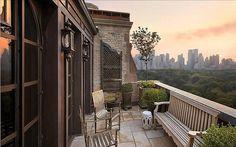Terrasse à buis sur Central Park