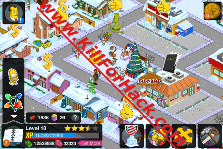The Simpsons Tapped Out Hack Cheats for iOS Android