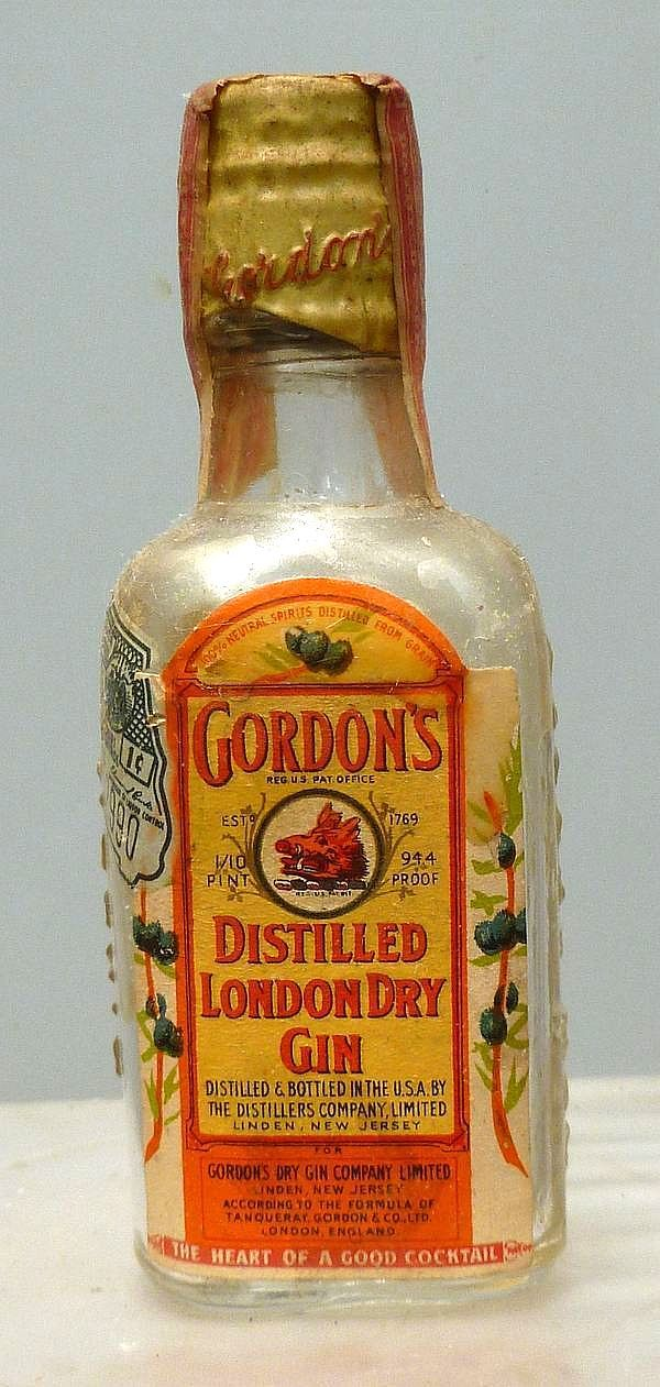 Gordon S Miniature Bottles Of Liquor Mini Liquor Bottles Bottle Liquor Bottles