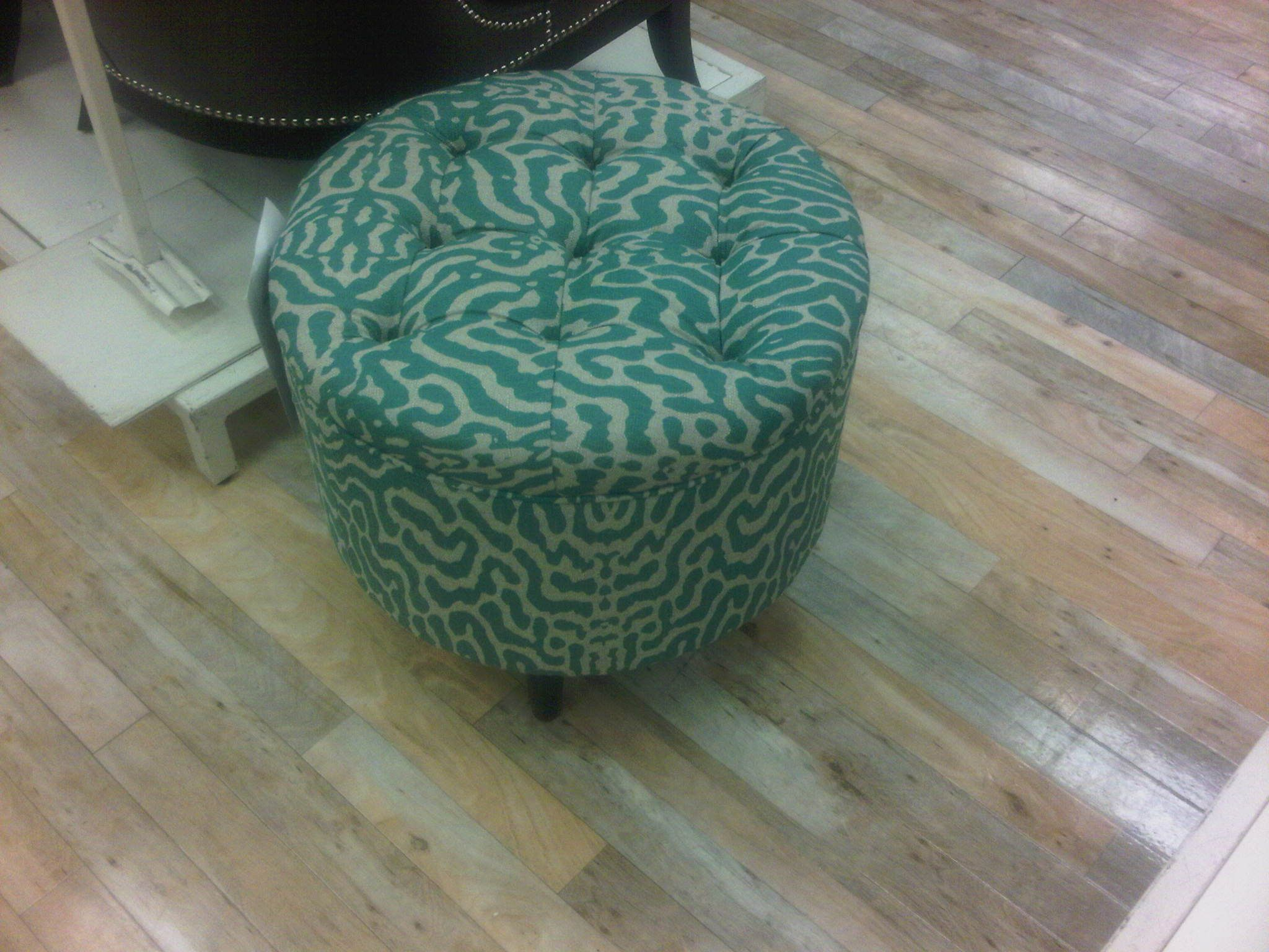 Homesense Accent Chairs Teal Tufted Ottoman Homesense Potential Living Room