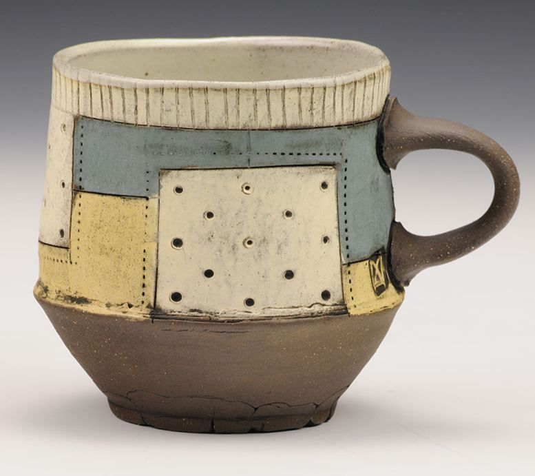 Another Sweet Cup By Featured Artist @markarnold_ceramics , Available On  Our Site (along With