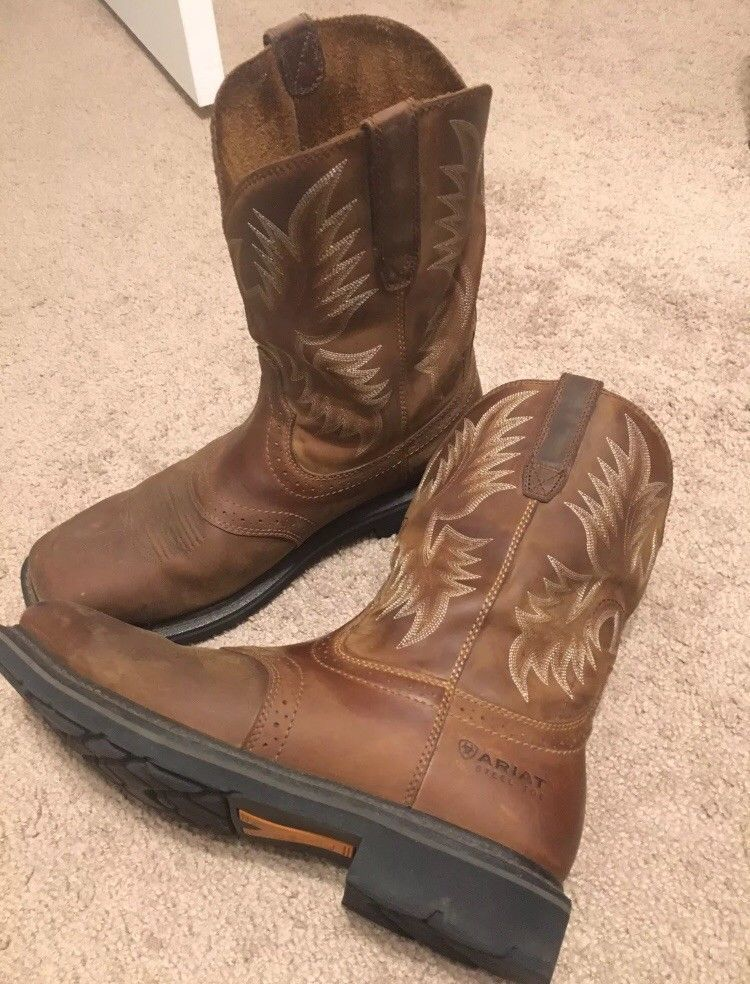 c69697d11c3 Mens Ariat Sierra Wide Square Toe Boot #fashion #clothing #shoes ...