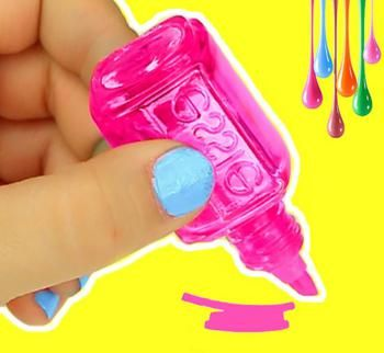 Nail Polish Bottle Crafts & Hacks – DIY Projects To Use Empty Nail Polish Bottles – Recycle DIYs -   17 diy projects For School nail polish ideas