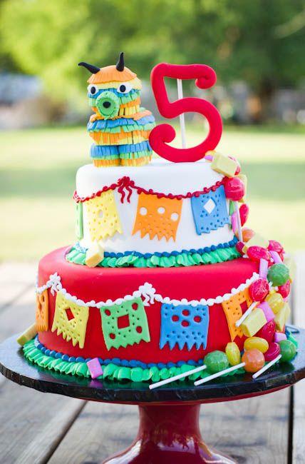 Cinco En Mayo A Cinco De Mayo Birthday Party For Kids Mexican