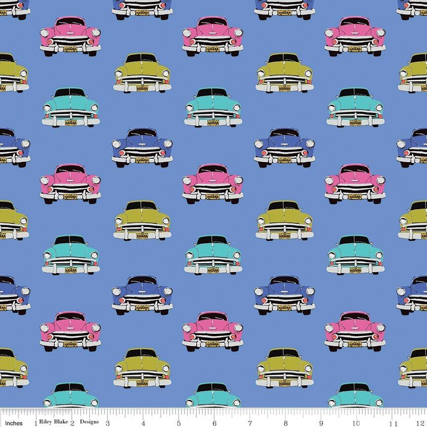 Classic cars on blue fabric by half yard, cars fabric, printed quilting cotton, vintage cars quilting fabric, men sewing fabric, car fabric